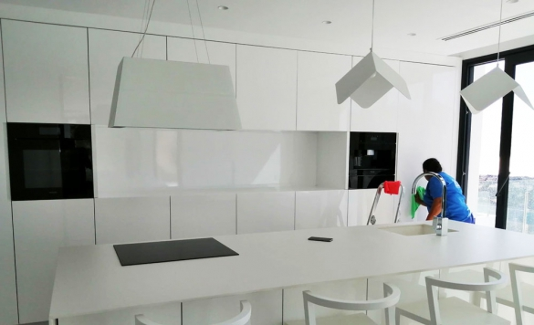 limpieza chalet cocina 1