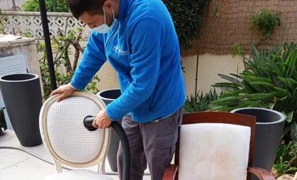 limpieza sillas alicante