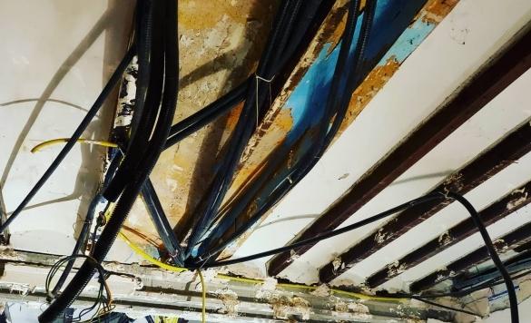 montaje techo de pladur calpe