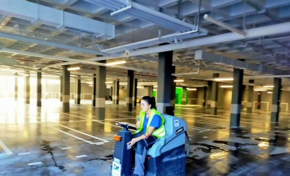 mantenimiento de aparcamientos calpe