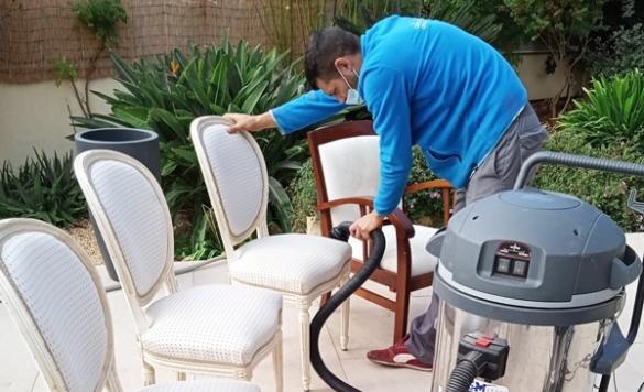 limpieza profesional de sillas