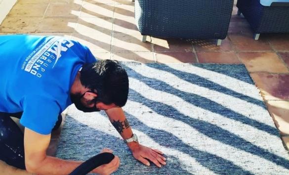 limpiar alfombras con vaporeta en calpe