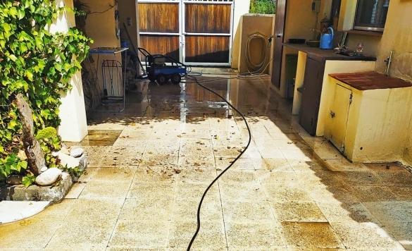 limpieza suelo terraza calpe