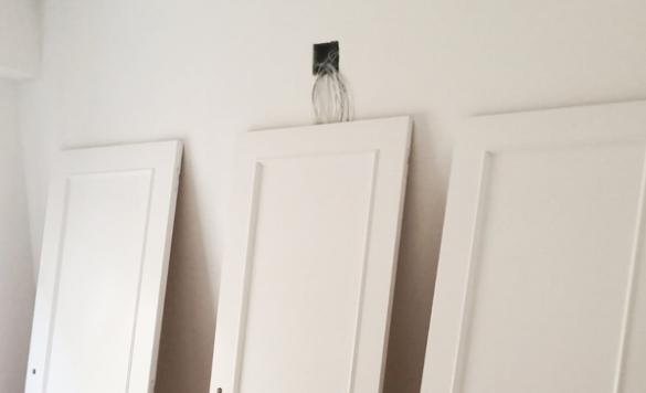 pintado de puertas en calpe
