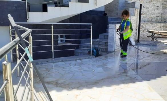 limpieza de terraza en marina alta 2