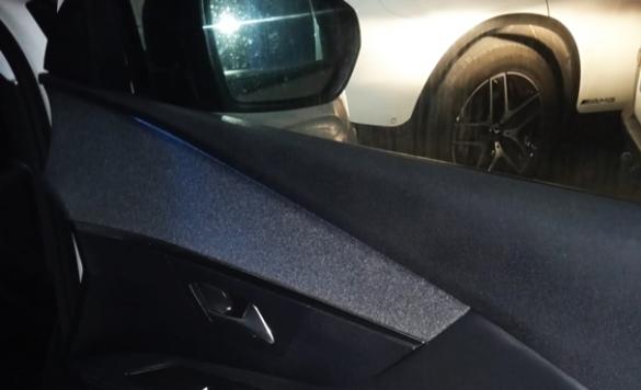limpieza interior del coche a vapor en calpe