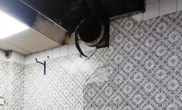 limpiar la grasa de la cocina en calpe