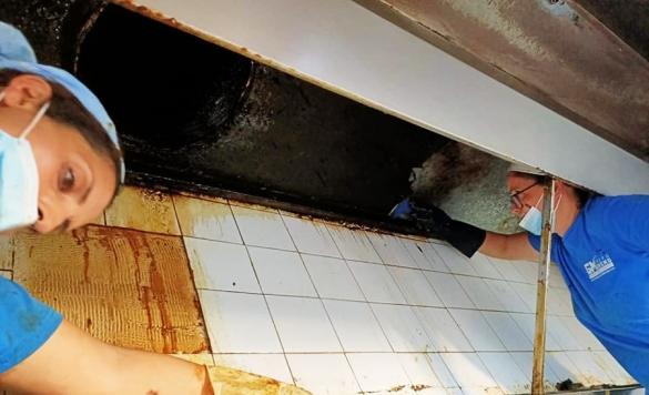 limpieza campana de cocina 5