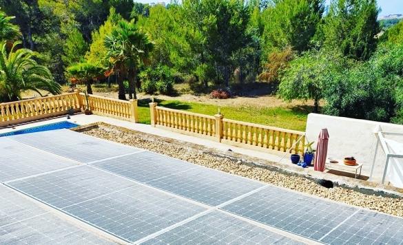 mantenimiento de paneles solares calpe