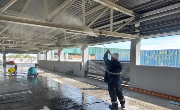 limpieza techos grandes superficies 2