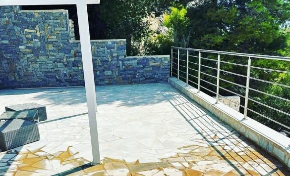 limpieza terraza con karcher en calpe