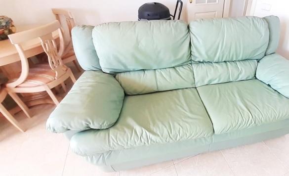 limpieza de sofa despues calpe