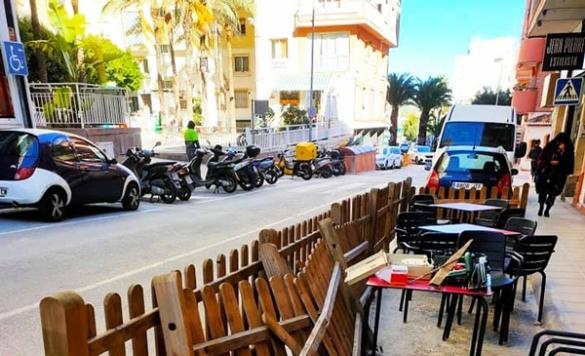 reparar terraza restaurante