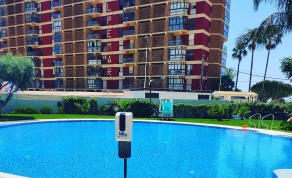 dispensadores para piscinas en calpe