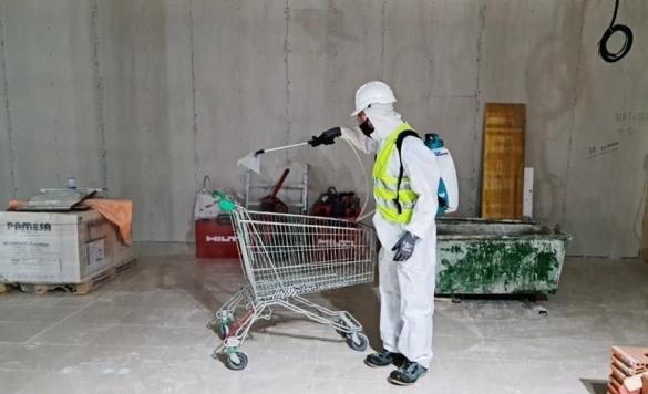 limpieza carrito supermercado