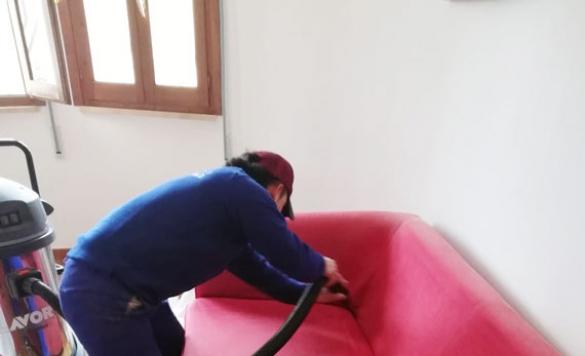 limpieza de sofa y colchones