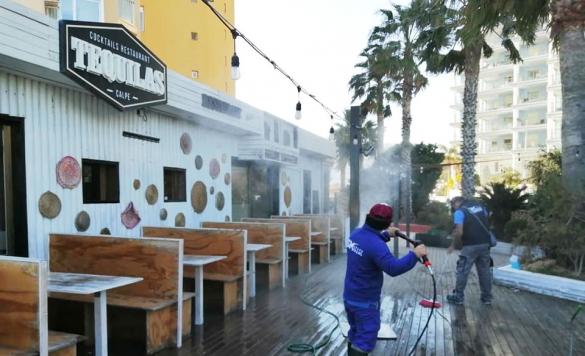 limpieza terraza restaurante1