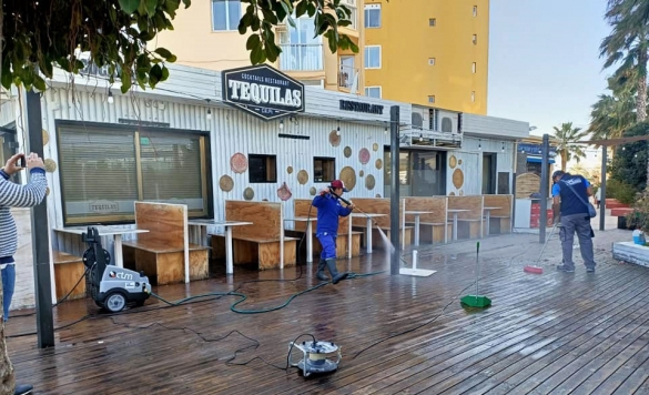 limpieza terraza restaurante2