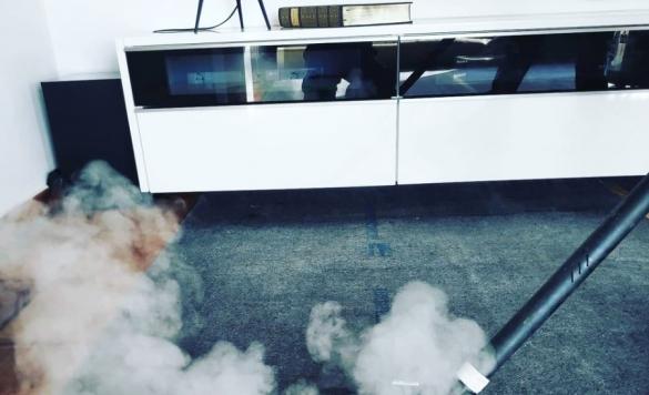 limpiar con vapor moquetas