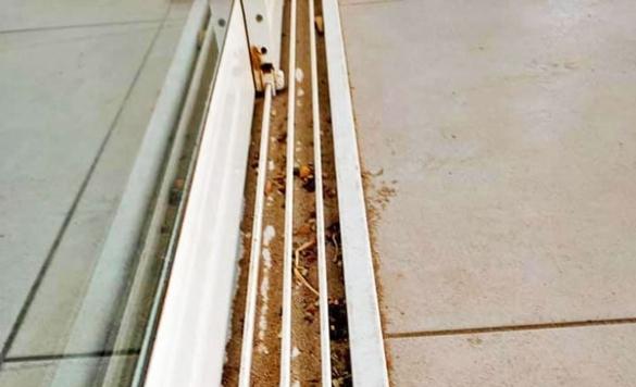 limpieza de railes restaurante
