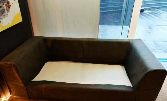 limpieza sofa de piel