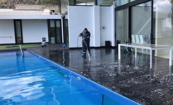 limpieza terrazas chalet altea 1