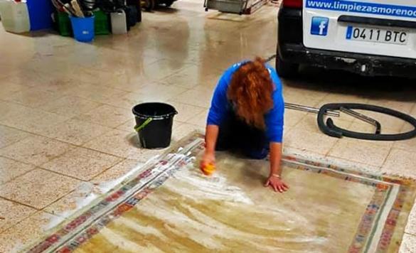 limpieza de alfombras de lana