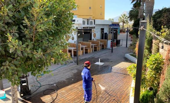 limpieza terraza restaurante3