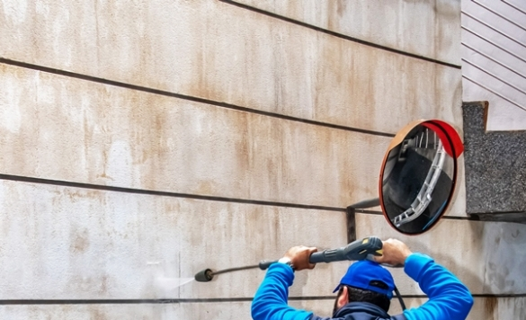limpiar fachada con karcher