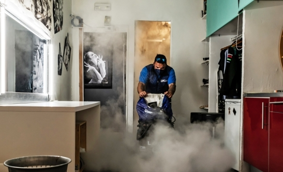 limpiar moqueta con vaporeta en calpe