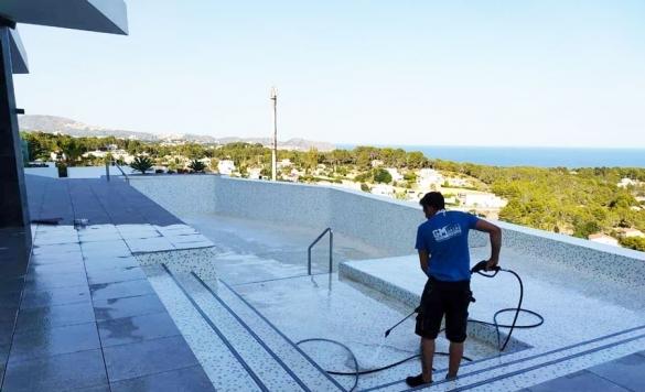 limpieza de piscina en obra 8