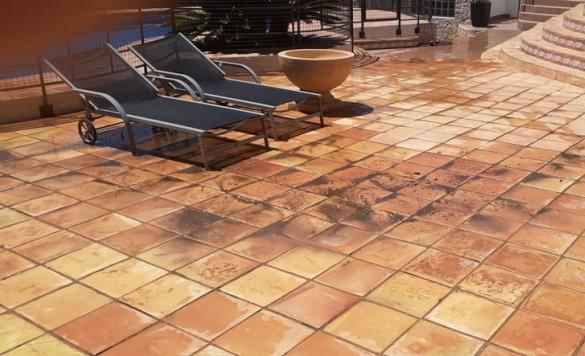 limpieza terraza chalet moraira 5