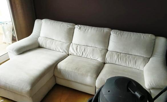 limpieza vapor sofa en calpe