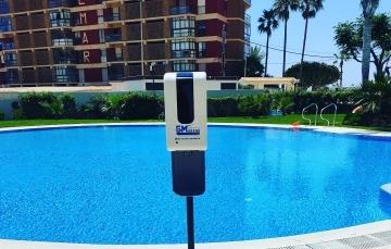 venta de dispensadores para piscinas en calpe