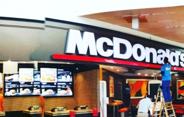 limpieza mcdonalds fachadas