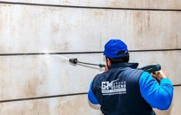 limpiar piedra fachada con karcher en calpe