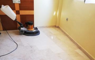 limpieza abrillantado marmol