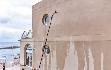 limpieza de fachadas de piedra en calpe
