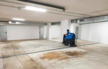 limpieza parking calpe 1