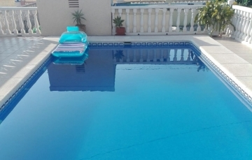 limpieza piscina despues 1