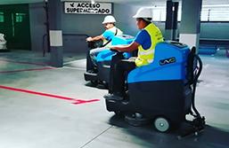Limpieza de garajes parkings públicos o privados
