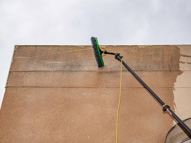 limpieza fachadas comercios
